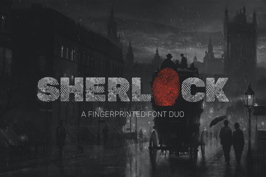 Sherlock Font Duo