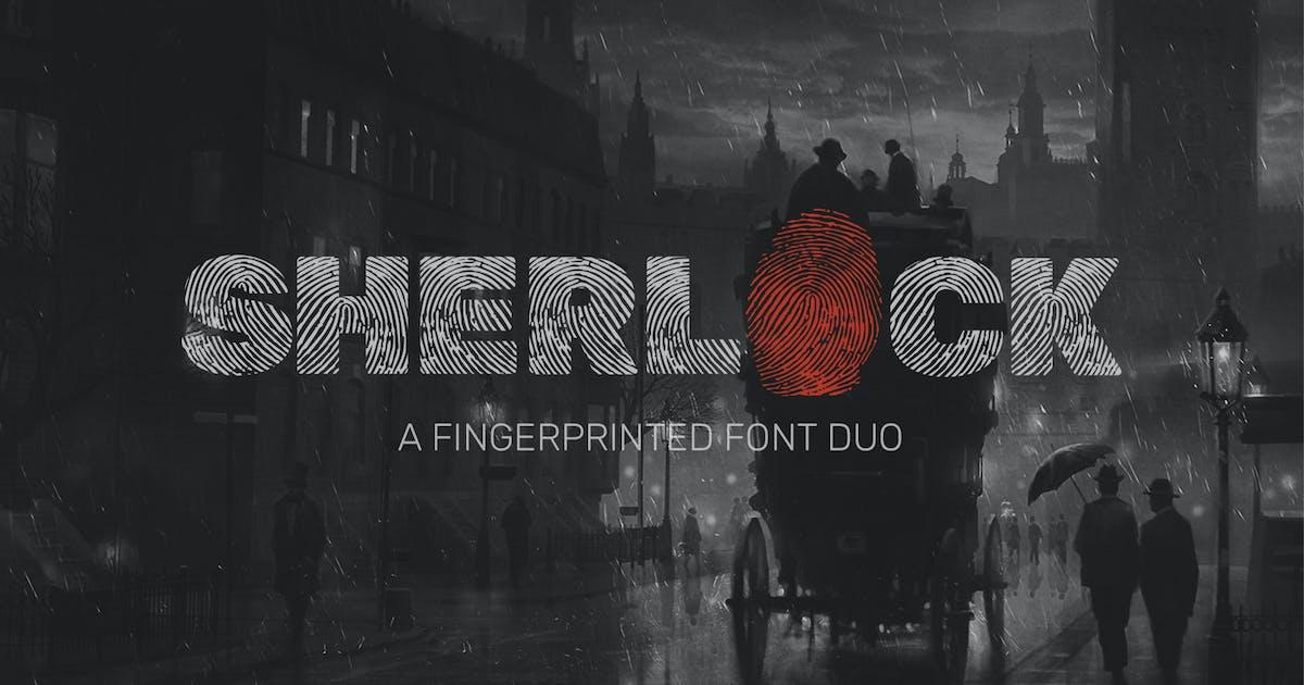 Download Sherlock Font Duo by DesignSomething