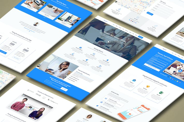 Thumbnail for Square - Premium High Converting SaaS Landing Page