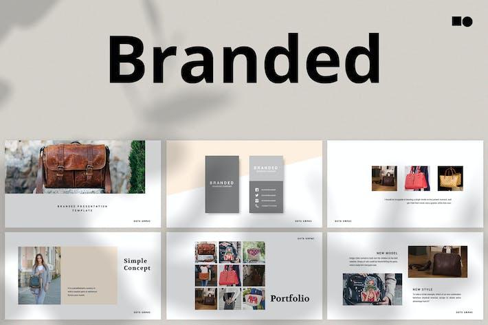 Cover Image For Брендированные - Слайды Google