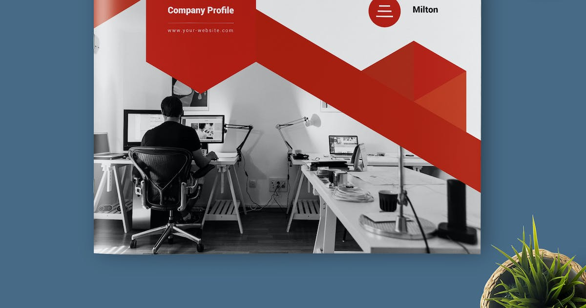 Company Profile By Kahuna Design On Envato Elements