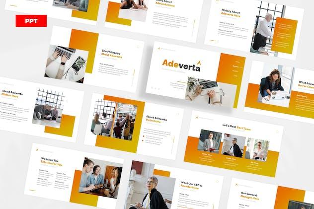 Adeverta Advertising Agency - PowerPoint UP
