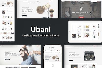 Ubani - Адаптивная тема Prestashop