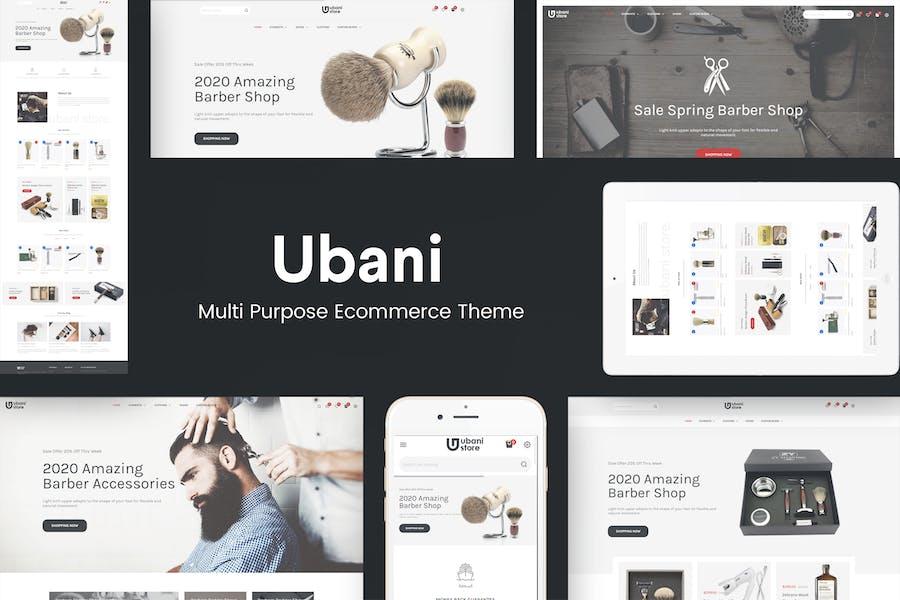 Ubani - Responsive Prestashop Tema