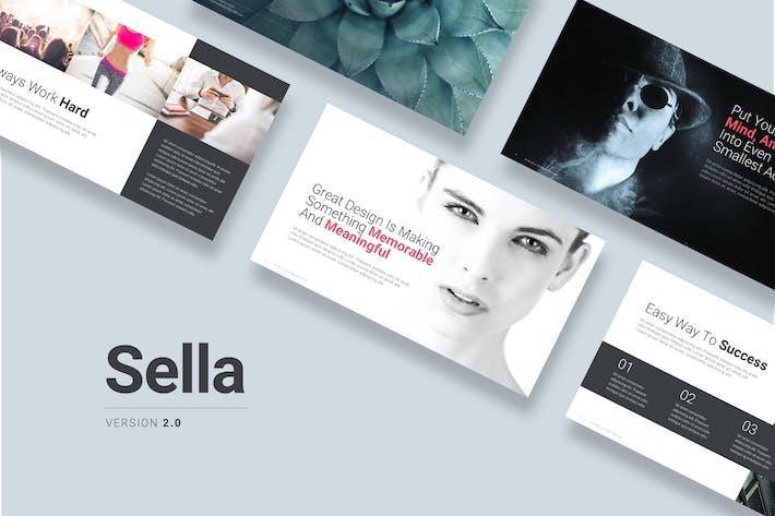 Thumbnail for Sella 2.0 Keynote Template