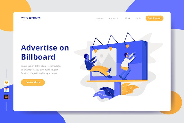 Thumbnail for Advertise on Billboard - Landing Page