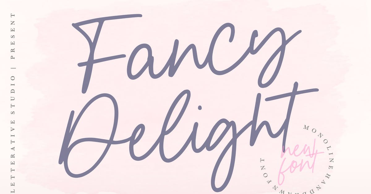 Download Fancy Delight Signature Font YH by GranzCreative