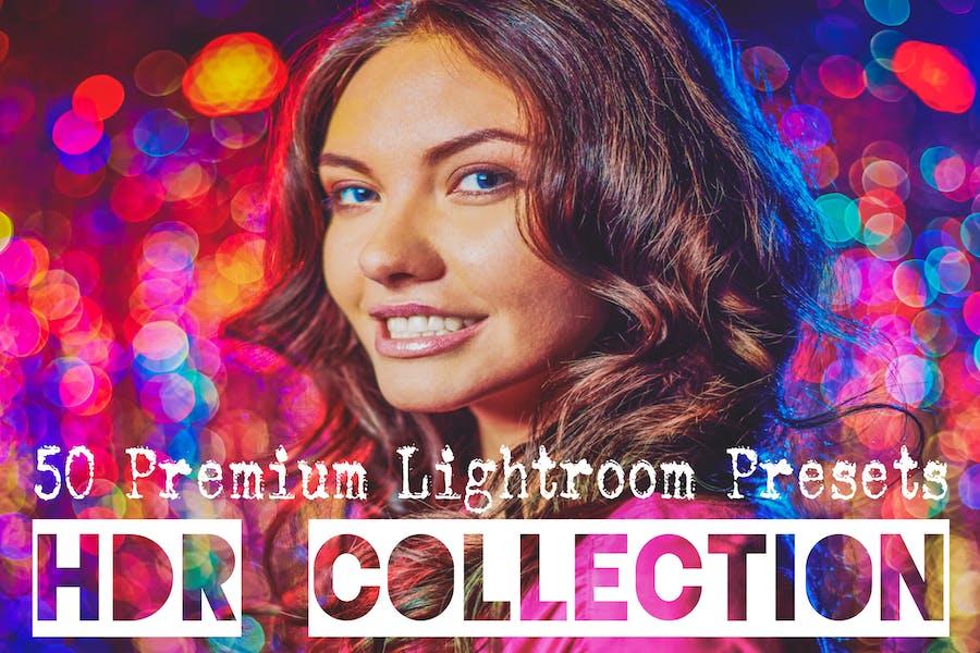 50 HDR Lightroom Presets Premium Collection