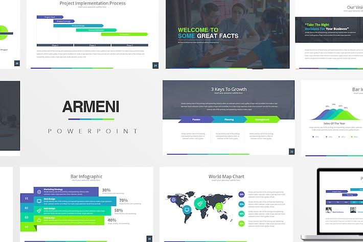 Thumbnail for Armeni : Powerpoint Presentation