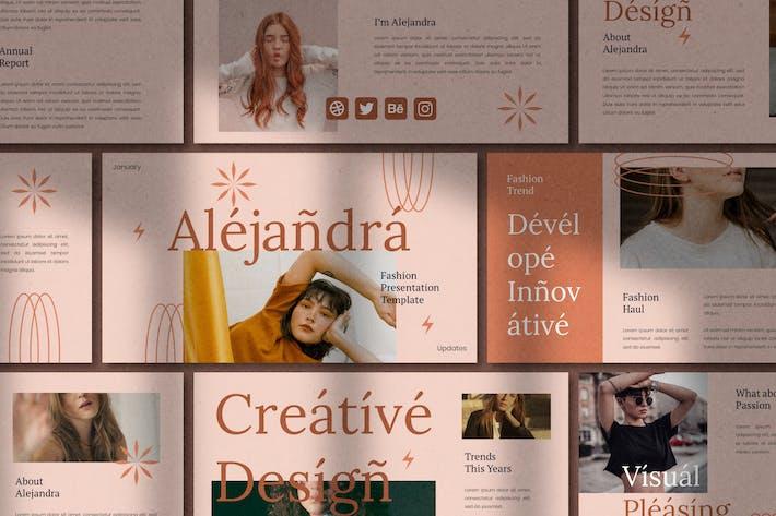 Alejandra - Powerpoint Template