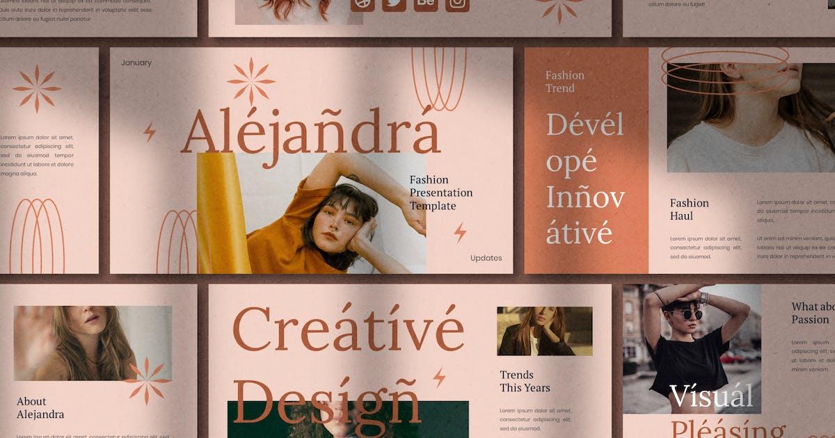 Download Alejandra - Powerpoint Template by eztudio