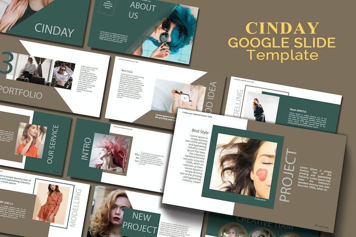 CINDAY - Google Slide Template