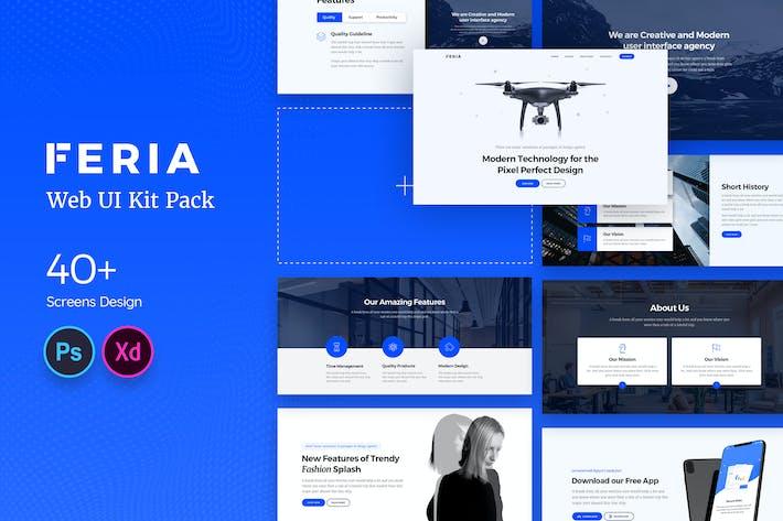 Thumbnail for Feria Web UI Kit