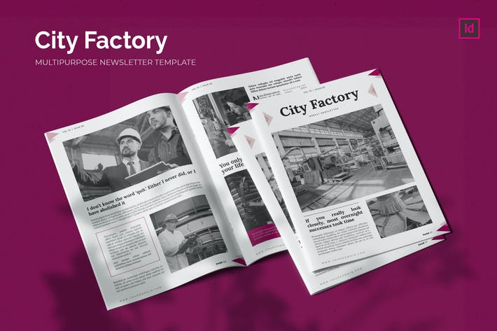 City Factory News - Newsletter Template