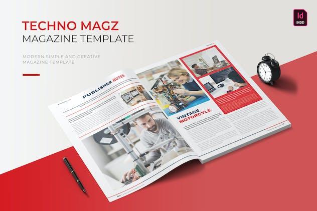 Techno | Magazine Template
