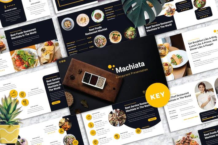 Machiata - Restaurant Keynote Templates