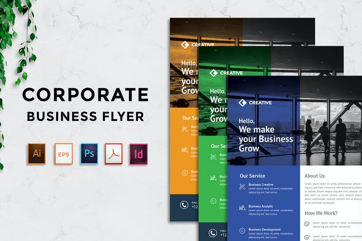 Thumbnail for Rantautemp - Business Solution Flyer vol 19