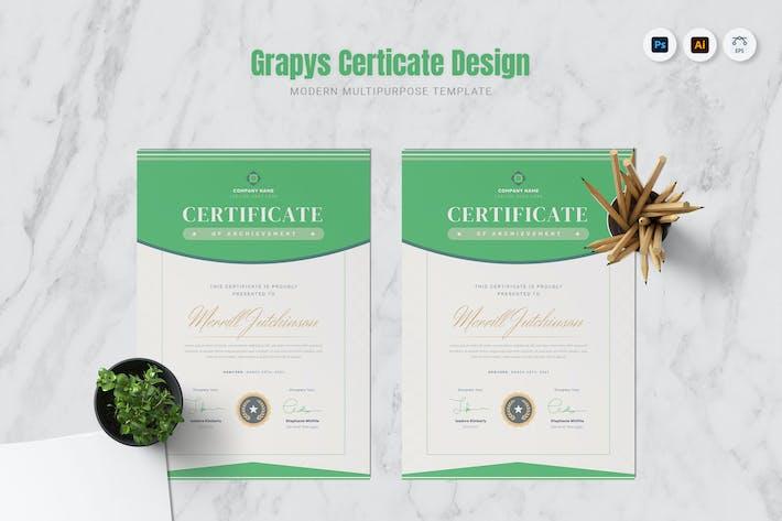 Grapys Company Certificate