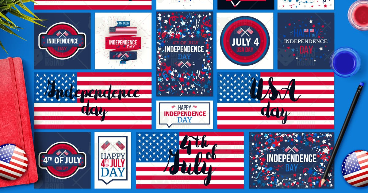 Download 4th Of July Banners by barsrsind