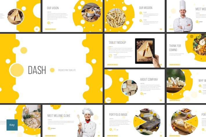 Thumbnail for Dash - Restaurant Keynote Template