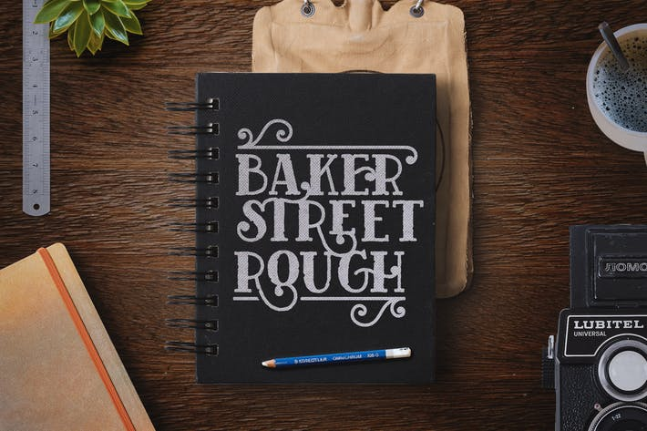 Cover Image For Baker Street Rough