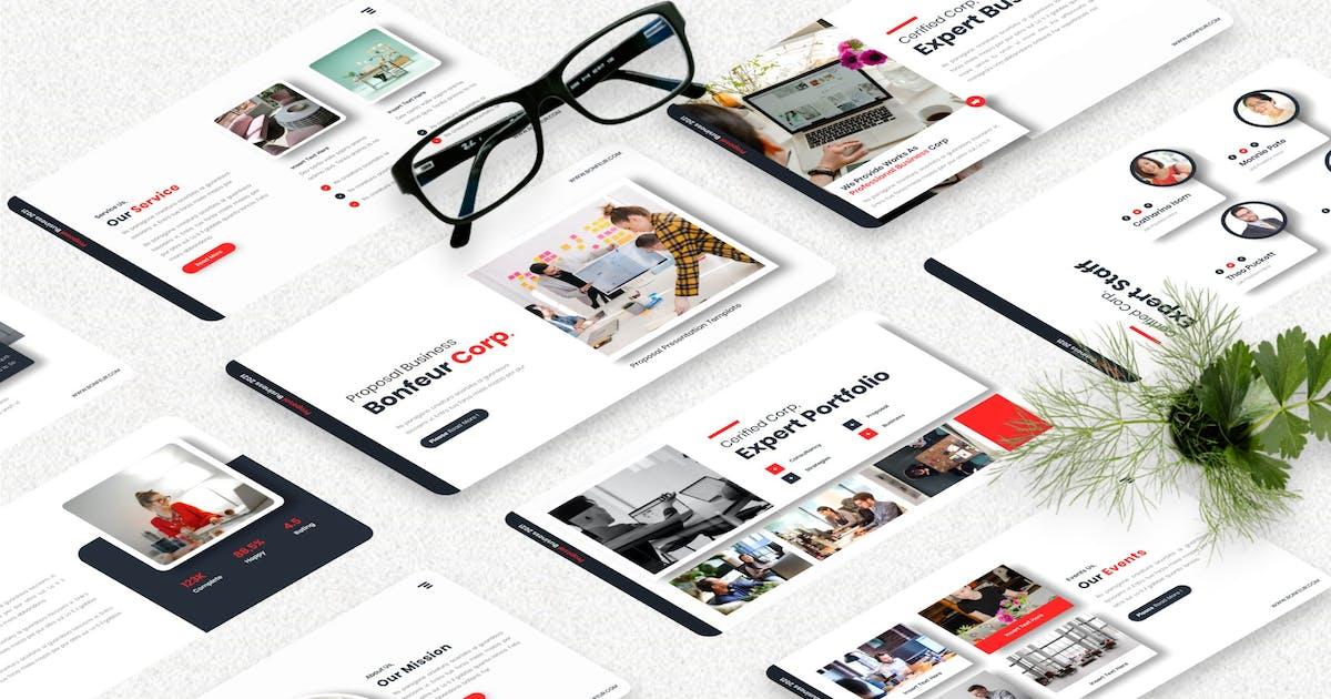 Download Bonfeur - Proposal Business Keynote Templates by Yumnacreative