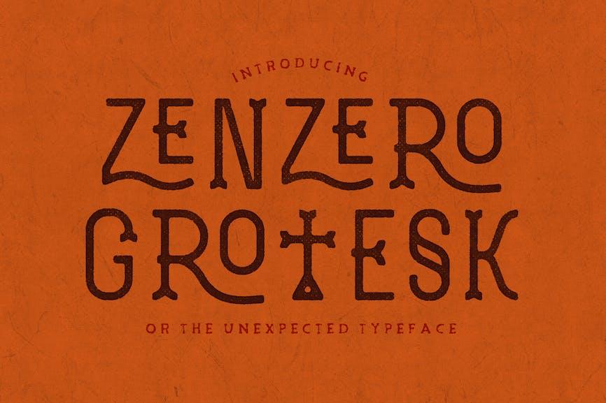 Zenzero-Grotesk