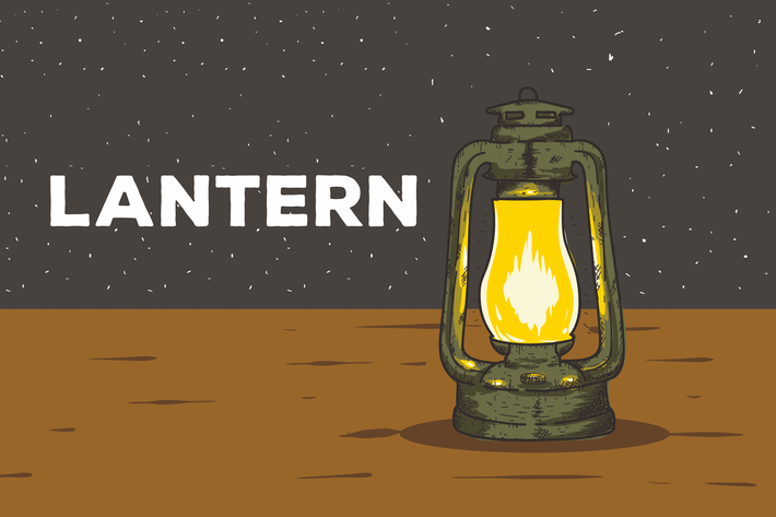 Thumbnail for Lantern Vector Background