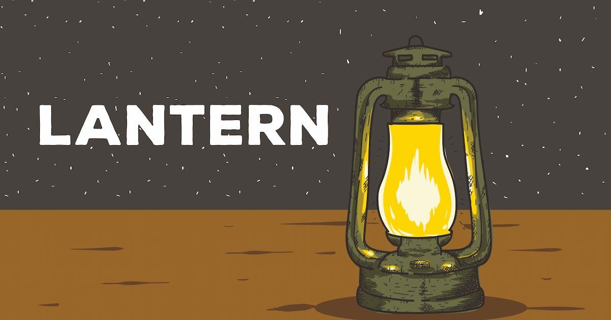 Download Lantern Vector Background by peterdraw