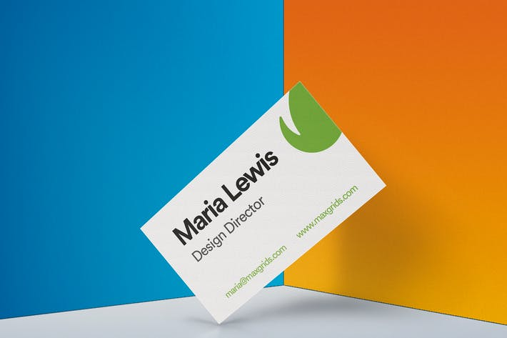 Thumbnail for Business Card Mockup 02