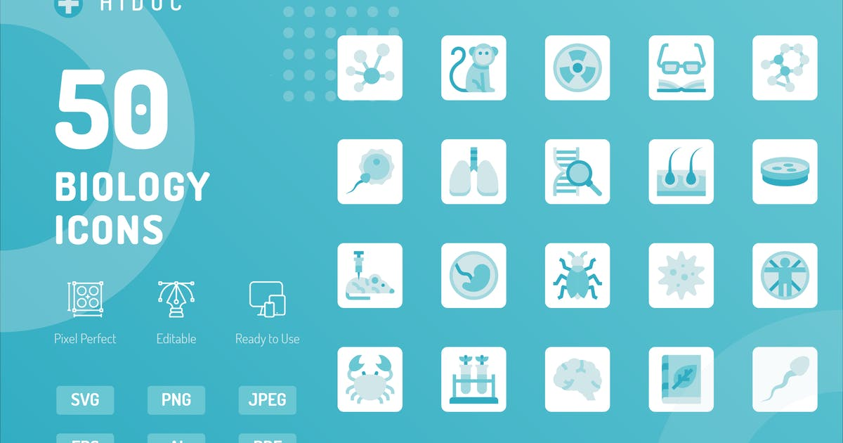 Download Hidoc- Biology Icons by kerismaker