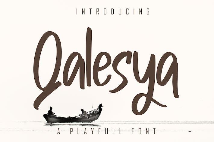 Thumbnail for Qalesya a Playfull Display