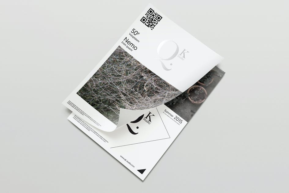 Download A4/A5 Poster-Flyer Mockups V2 by Wutip