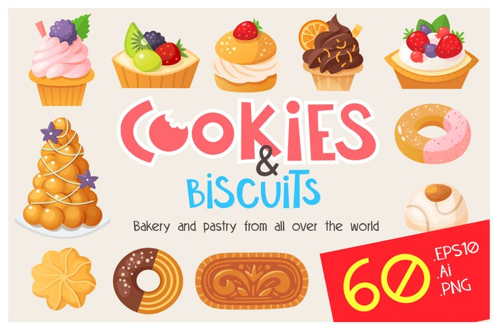 Thumbnail for Cookies, cakes and biscuits