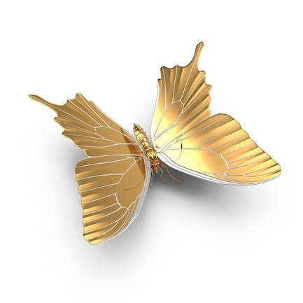 Goldener Schmetterling