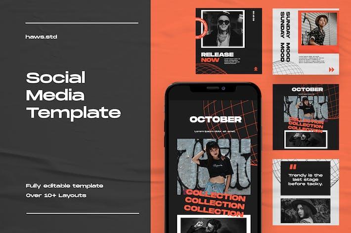 Thumbnail for Social Media Template