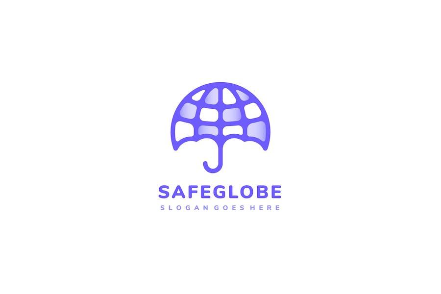 Umbrella Globe Logo