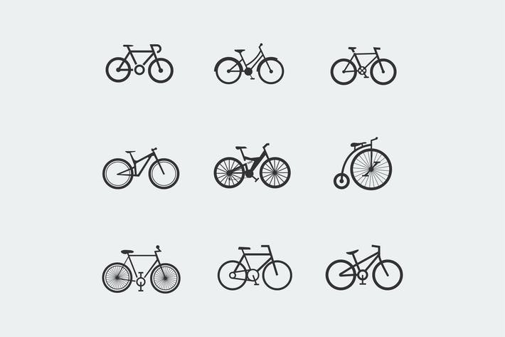 Thumbnail for 9 Bicycle Icons