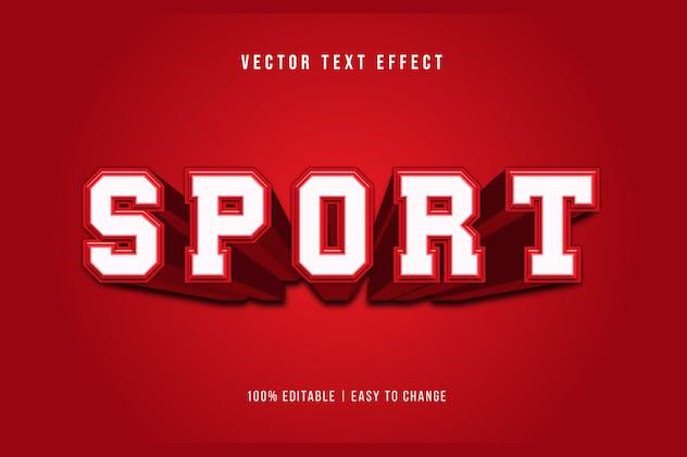 Sport - Editable Text Effect