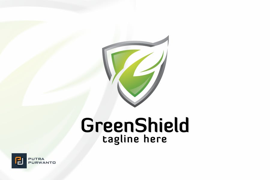 Green Shield - Logo Template