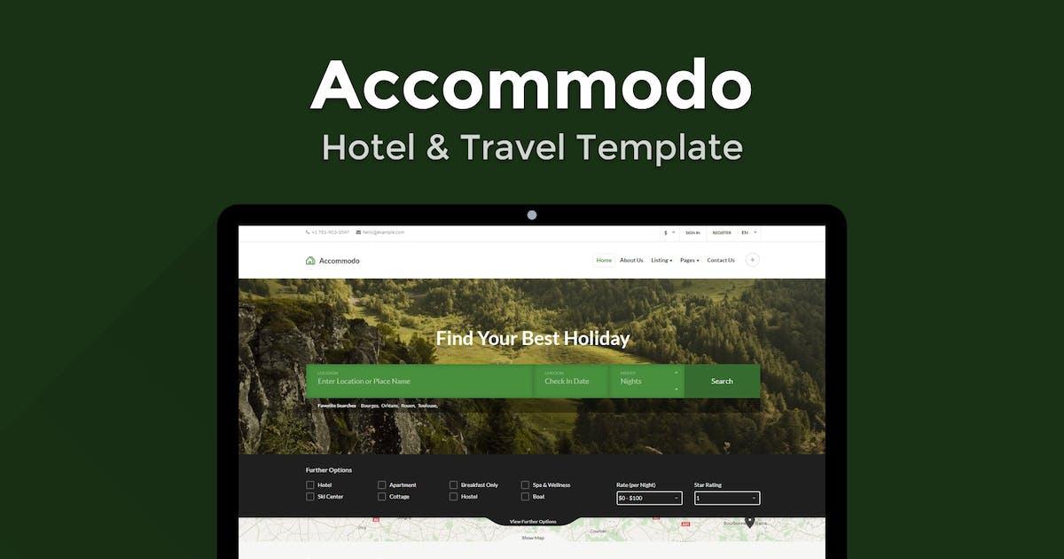 Download Accommodo - Hotel & Travel Template by ThemeStarz