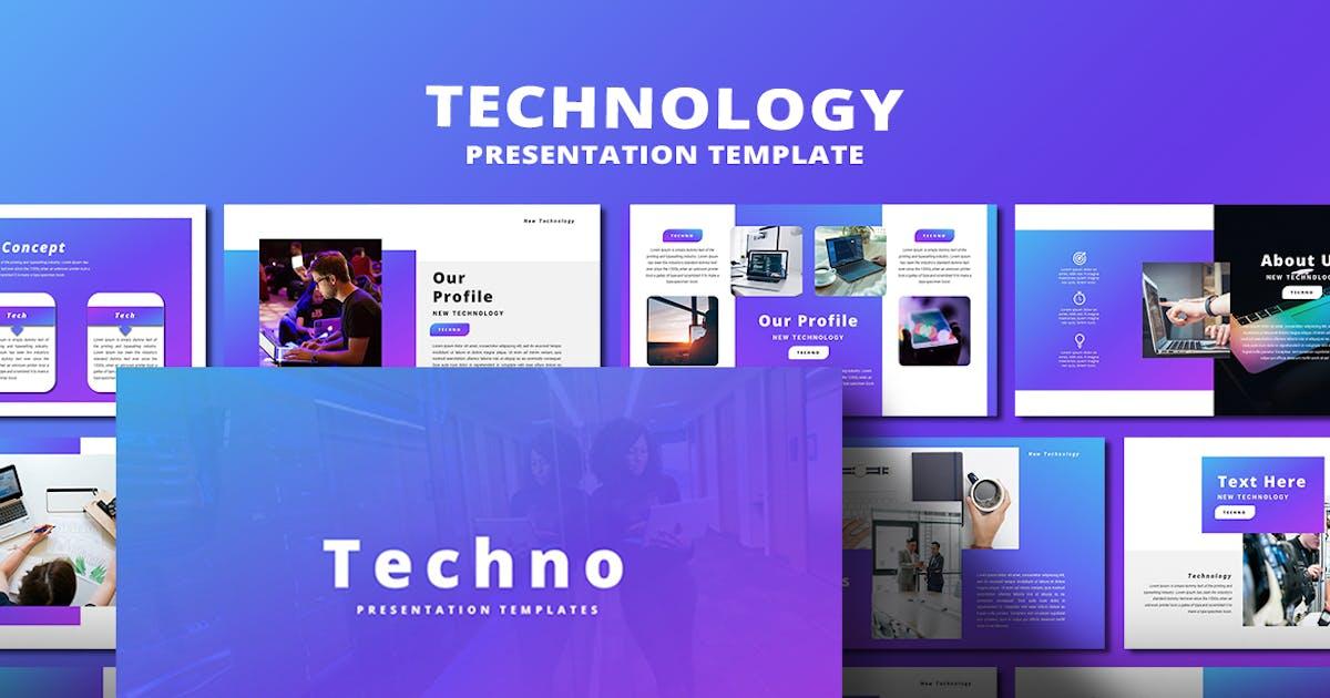 Download Techno - PowerPoint Template by alonkelakon