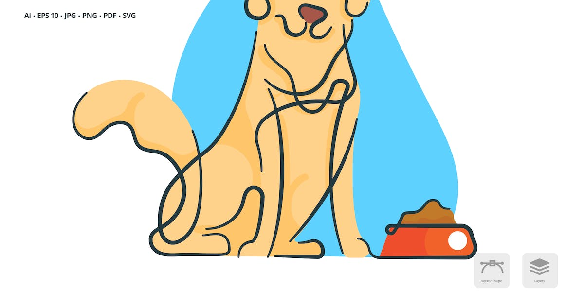Download Dog Pet Vector Illustration by roundicons