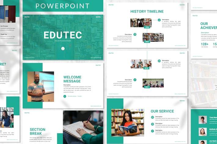 Edutec - Education Powerpoint Template
