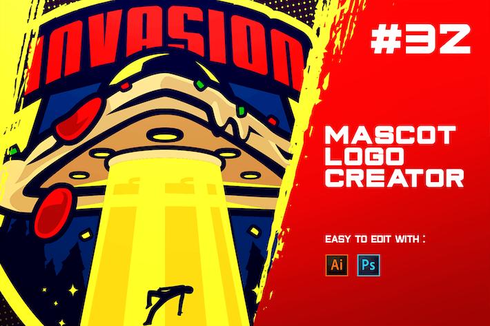 Thumbnail for INVASION - E-Sports Logo Creator