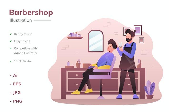 Иллюстрация для парикмахерской