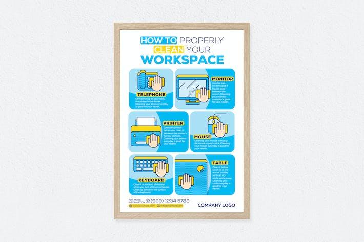 Thumbnail for Comment nettoyer correctement l'affiche de votre espace de travail
