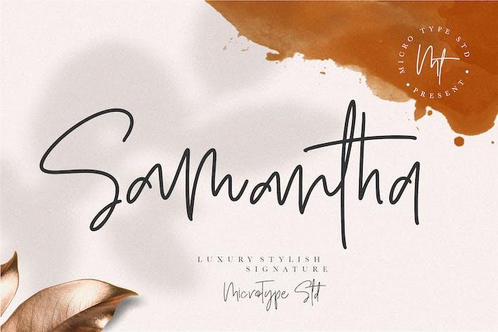 Thumbnail for Samantha Lujo Signature