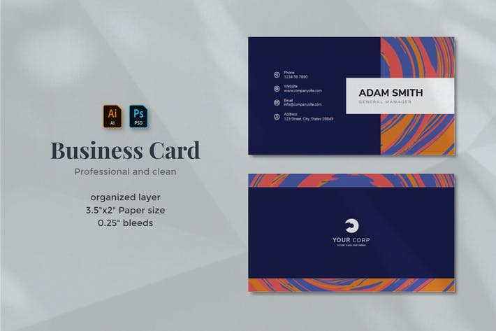 Thumbnail for Business Card 04