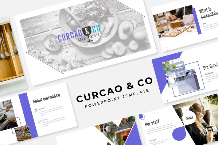 Cover Image For Curcao & Co - Power Point Template
